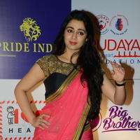 Charmi Kaur at 100 Hearts Red Carpet by CCL Stills | Picture 951107