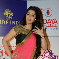 Charmi Kaur at 100 Hearts Red Carpet by CCL Stills | Picture 951108