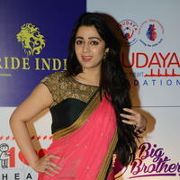 Charmi Kaur at 100 Hearts Red Carpet by CCL Stills | Picture 951109