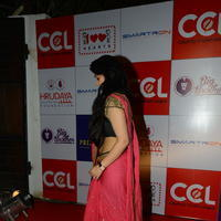 Charmi Kaur at 100 Hearts Red Carpet by CCL Stills | Picture 951111