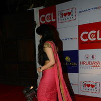 Charmi Kaur at 100 Hearts Red Carpet by CCL Stills | Picture 951112