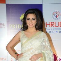 Kriti Kharbanda at 100 Hearts Red Carpet by CCL Photos | Picture 951211