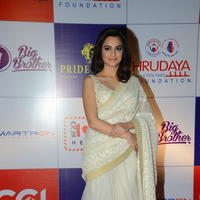 Kriti Kharbanda at 100 Hearts Red Carpet by CCL Photos | Picture 951224