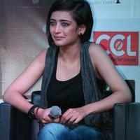 Akshara Haasan - Shamitabh Movie Press Meet Stills