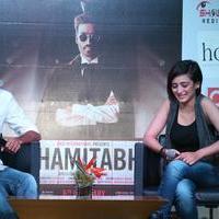 Shamitabh Movie Press Meet Stills