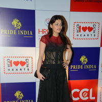 Sneha Ullal at 100 Hearts Red Carpet by CCL Photos | Picture 951115