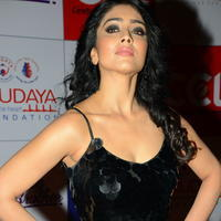 Shriya Saran at 100 Hearts Red Carpet by CCL Photos | Picture 951339