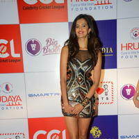 Shubra Aiyappa at 100 Hearts Red Carpet by CCL Stills | Picture 950983