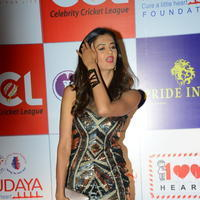 Shubra Aiyappa at 100 Hearts Red Carpet by CCL Stills | Picture 950994