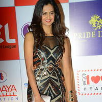 Shubra Aiyappa at 100 Hearts Red Carpet by CCL Stills | Picture 950996
