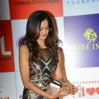 Shubra Aiyappa at 100 Hearts Red Carpet by CCL Stills | Picture 950997