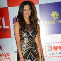 Shubra Aiyappa at 100 Hearts Red Carpet by CCL Stills | Picture 951001