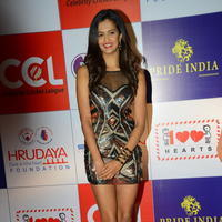 Shubra Aiyappa at 100 Hearts Red Carpet by CCL Stills | Picture 951003