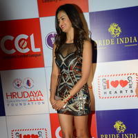 Shubra Aiyappa at 100 Hearts Red Carpet by CCL Stills