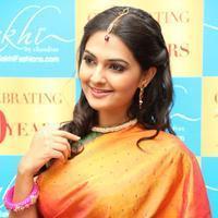 Neha Deshpande at 10th Year Celebrations of Sakhi Fashions Stills