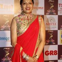 Anitha Chowdary at TSR TV9 National Film Awards Photos