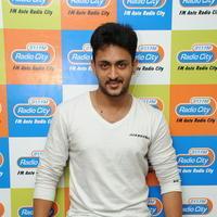 Manoj Nandam - Dhanalakshmi Talupu Tadithey Movie Team at Radio City Photos