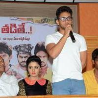Dhanalakshmi Talupu Tadithey Movie Press Meet Stills | Picture 1079052
