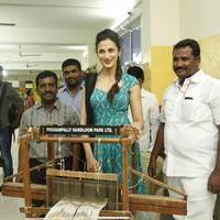 Shilpa Reddy at Pochampally IKAT Art Mela Photos | Picture 1079118