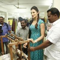 Shilpa Reddy at Pochampally IKAT Art Mela Photos | Picture 1079124