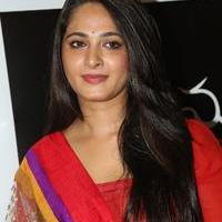Anushka Shetty at Rudramadevi Movie Trailer Launch Photos