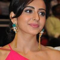 Rakul Preet Singh at Pandaga Chesko Audio Launch Stills