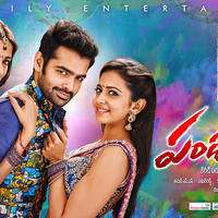 Pandaga Chesko Movie Release Wallpapers