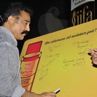 Kamal Hassan - Celebs at South India IIFA UTSAVAM Press Meet Stills