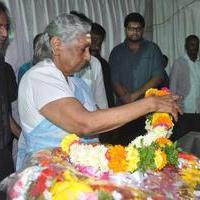 S. Janaki - Edida Nageswara Rao Condolences Photos