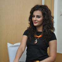 Seerat Kapoor at Columbus Movie Success Meet Photos