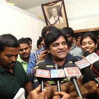 Ali - Mohan Babu Watches Dynamite Movie at Krishna Teja Theater Stills