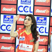 Pranitha - CCL 6 Telugu Warriors vs Karnataka Bulldozers Match Stills