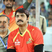 Srikanth Meka - CCL 6 Telugu Warriors vs Karnataka Bulldozers Match Stills