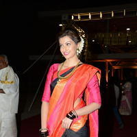 Hamsa Nandini - PVP Daughter Half Saree Function Event Stills