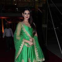 Sonal Chauhan at PVP Daughter Half Saree Function Event Stills
