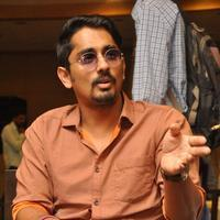 Actor Siddharth Press Meet Photos