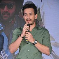 Akhil Akkineni - Sahasam Swasaga Sagipo Movie Audio Launch Photos