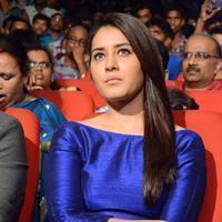 Raashi Khanna - Okka Ammayi Thappa Movie Audio Launch Stills