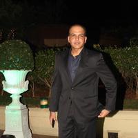 Ashutosh Gowariker - Celebrities at The Wedding Reception of Vishesh Bhatt and Kanika Parab Photos