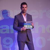 John Abraham - Standard Chartered Mumbai Marathon 2014 Press Conference Photos