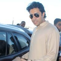 Abhishek Bachchan - Bachchan family snapped at Bhopal Airport Photos