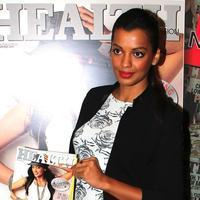 Mugdha Godse - Mugdha Godse & Sonu Sood Launches Health Magazine Silver Jubilee Edition Photos