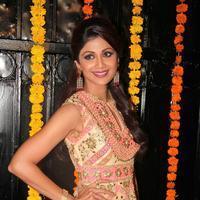 Shilpa Shetty - Celebrities at Ekta Kapoor Diwali Party 2013 Photos