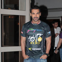 John Abraham - Announcement of Godrej Eon Tour De India 2013 Stills