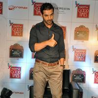 John Abraham - John Abraham Launches NDTV Good Times Show Stills