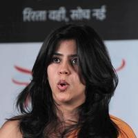 Ekta Kapoor - Launch of television serial Yeh Hai Mohabbatein Photos
