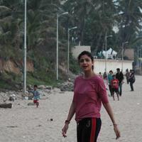Shilpa Shetty - Shilpa Shetty at Juhu Beach Stills