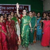 Rakhi Sawant - Rakhi Sawant celebrates Gudi Padwa Photos