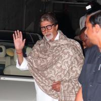 Amitabh Bachchan - Special screening of film Bhoothnath Returns Photos