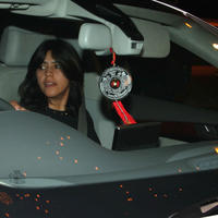Ekta Kapoor - Jeetendra's 72nd birthday celebration Stills